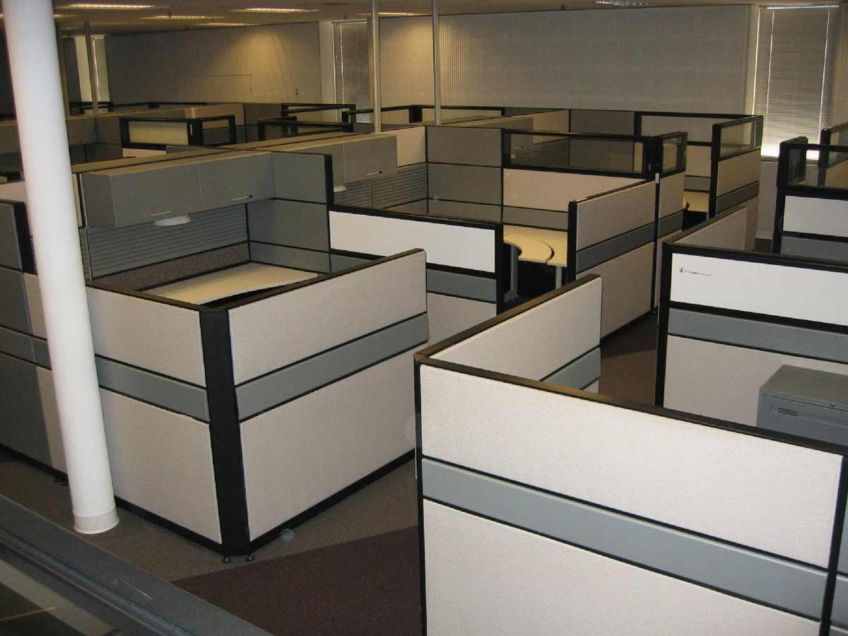 Used cubicles houston for big monetary saving for Design your office online