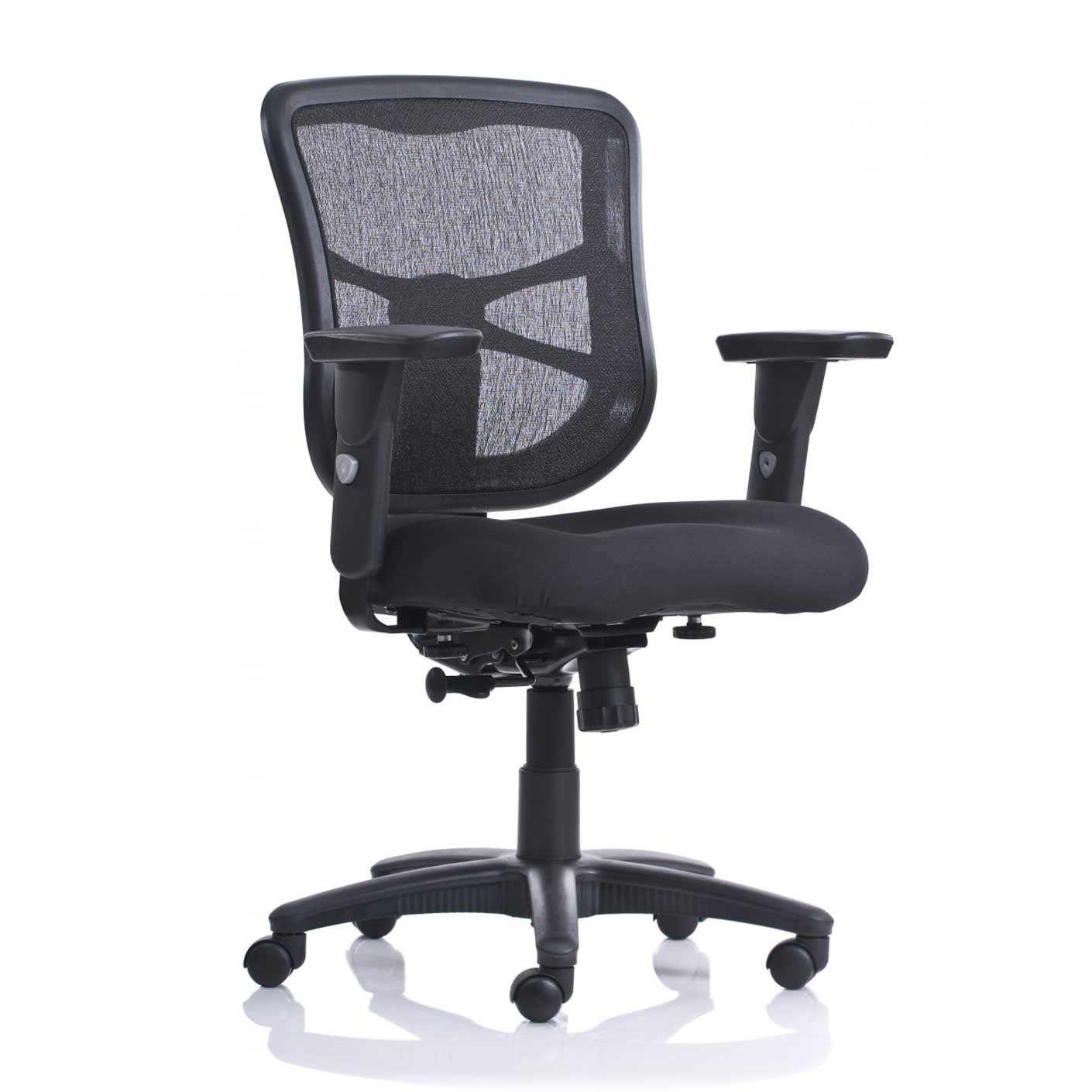 chicago black mesh home office chairs