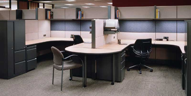 Contemporary Davies Office Furniture Workspace