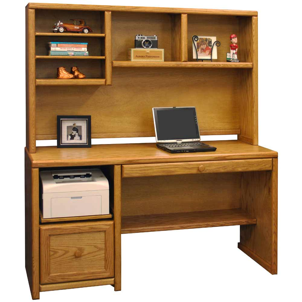 Realspace Dawson Outlet Computer Desk H W D Canyon Maple - Golime.co