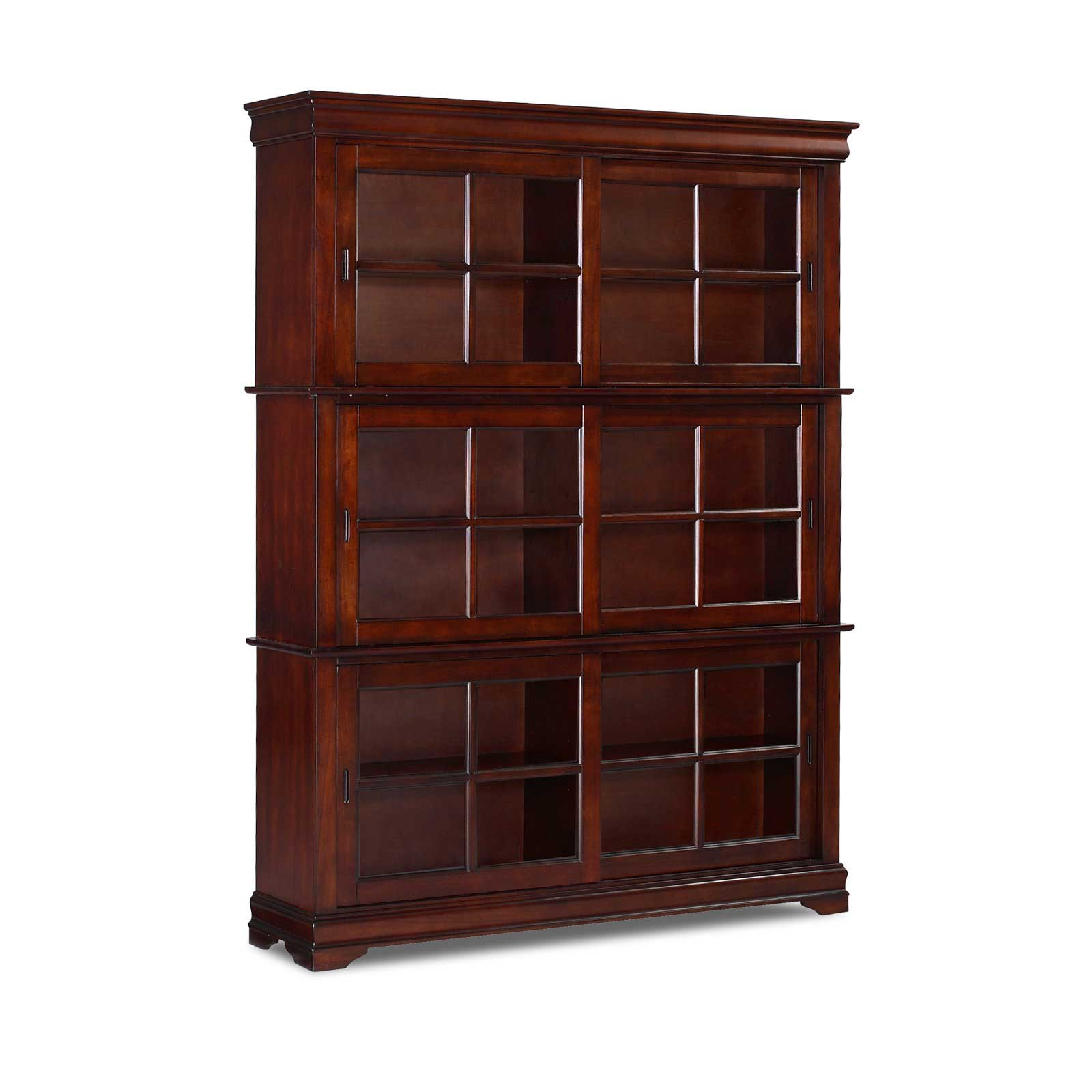 Oak Barrister Bookcase To Organize Your Books Office