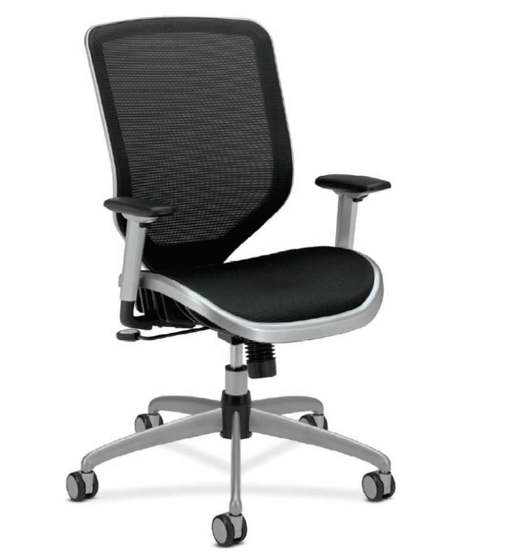 HON Boda black mesh Office task chairs