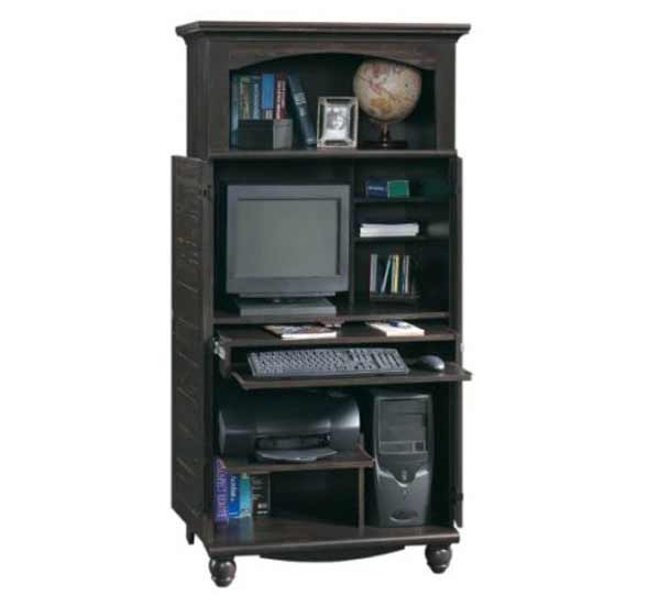 Harbor view classic computer armoire