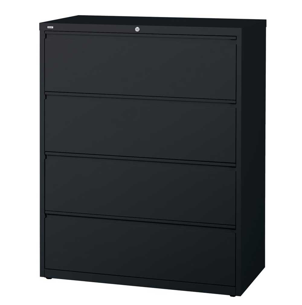Lorell commercial filing cabinets for home in black