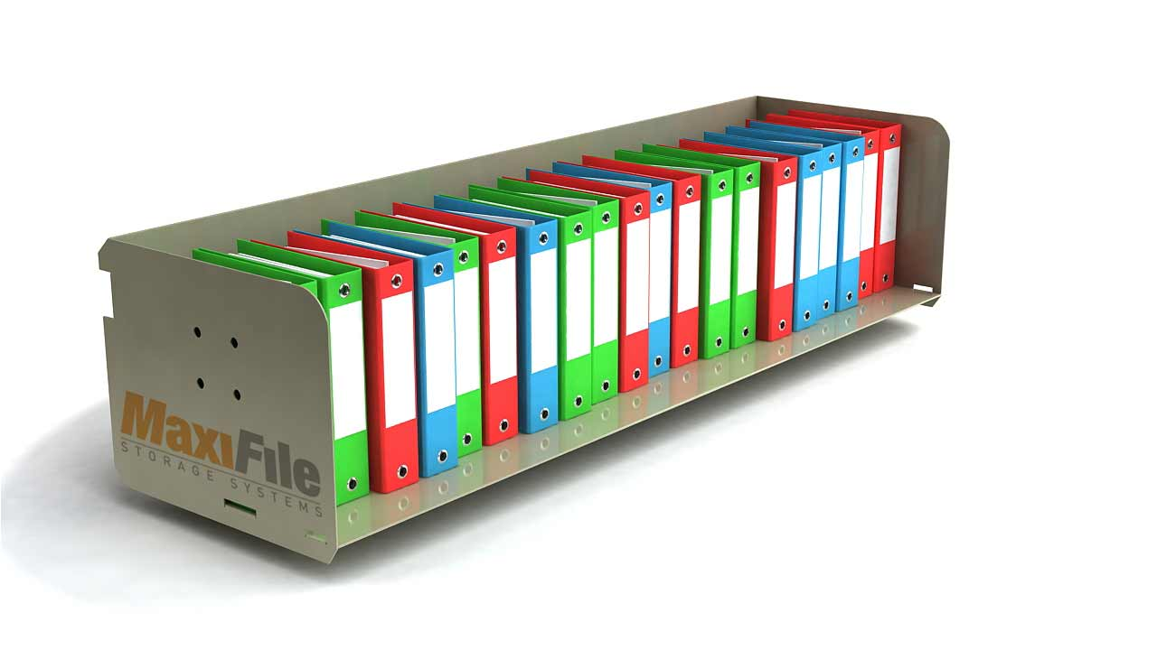 Maxi office lateral file storage system