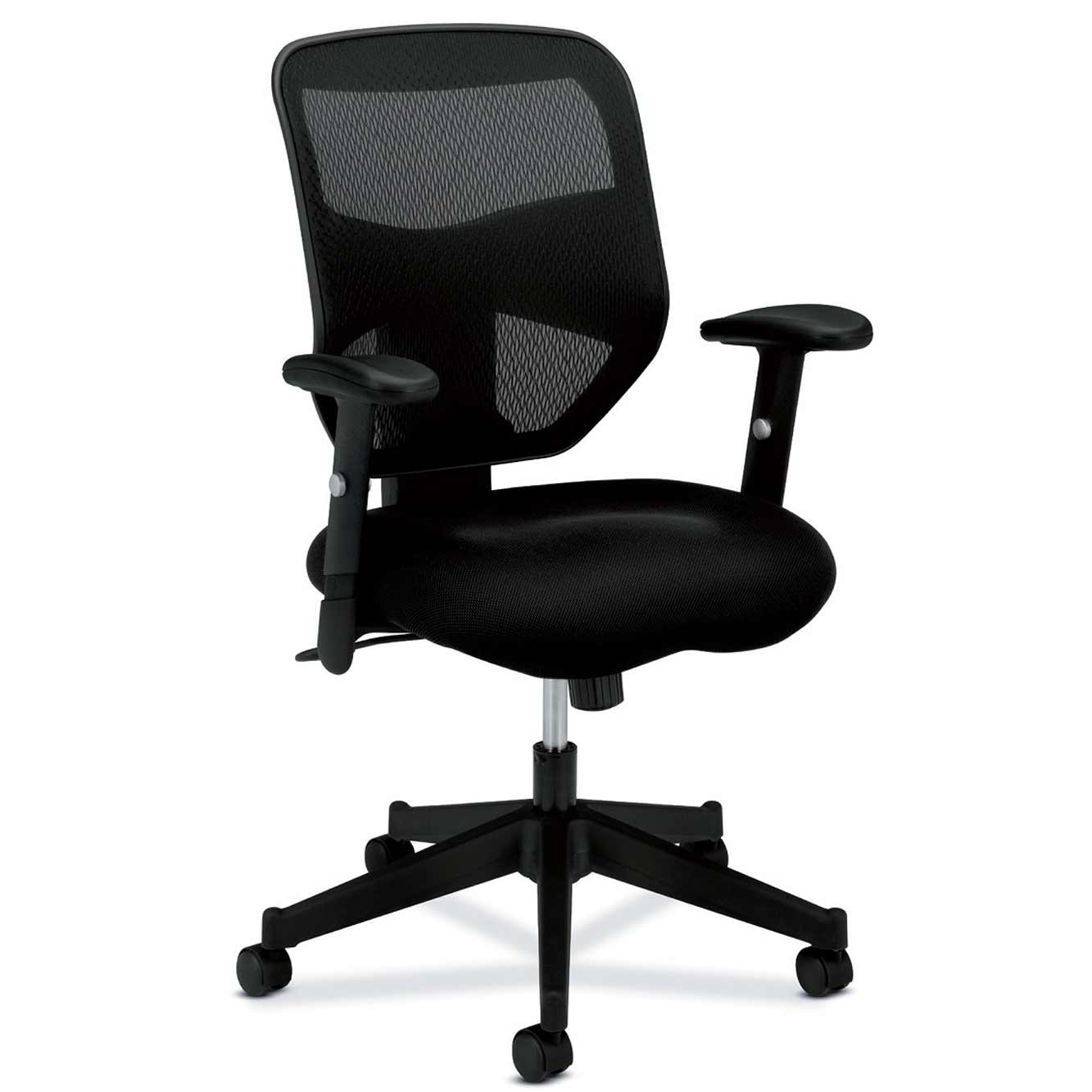 Mesh back basyx HON desk chairs