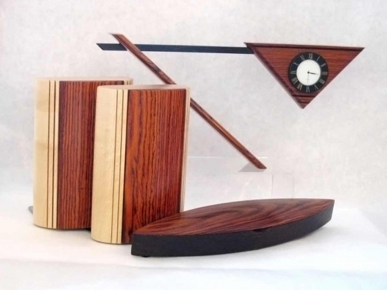 Modern Wooden Office Desk Accessories