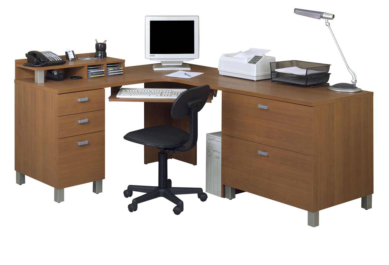 Computer desk office furniture office furniture - Corner office desk ...