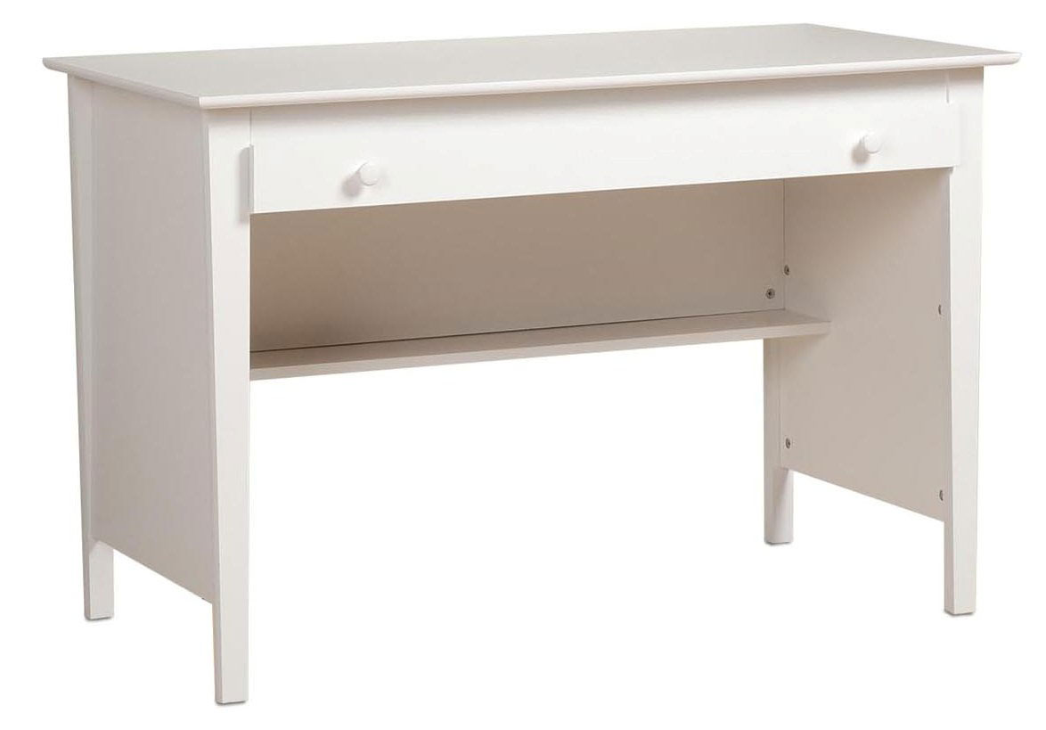 Prepac belcarra white contemporary desk furniture
