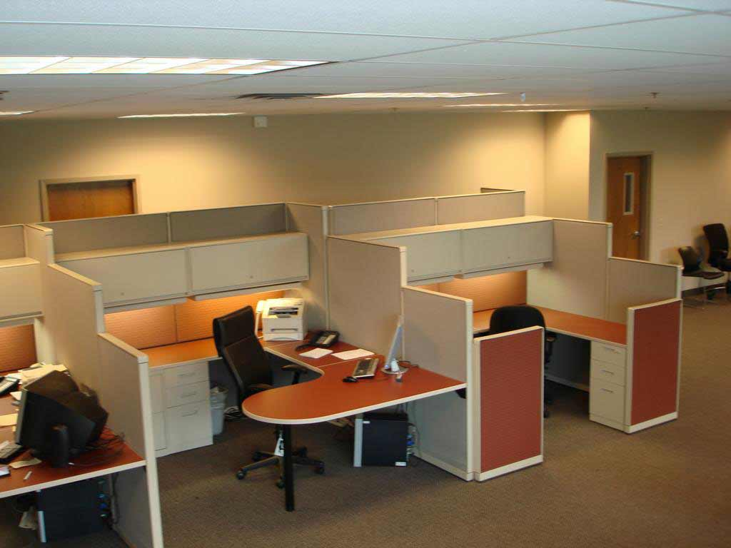 Remanufactured Office Furniture Cubicle