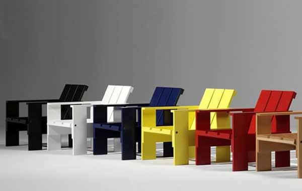 Rietveld Colorful Kids Office Furniture