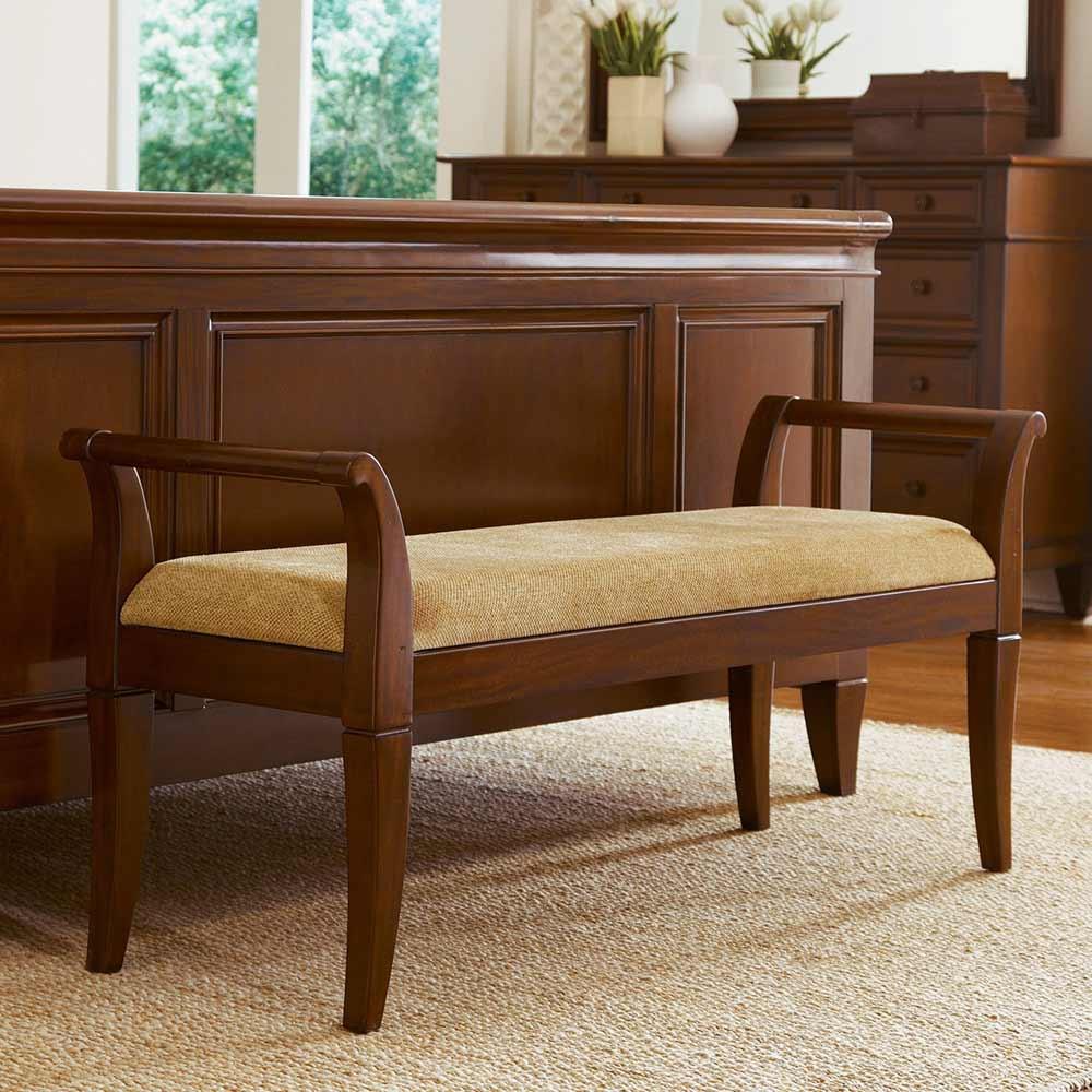 Westhaven Elegant Upholstered Home Office Bench