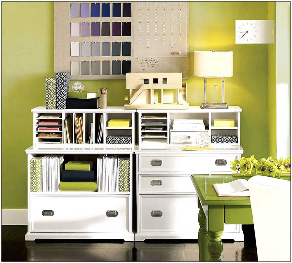 Filing cabinets for home ideas Home office organization ideas