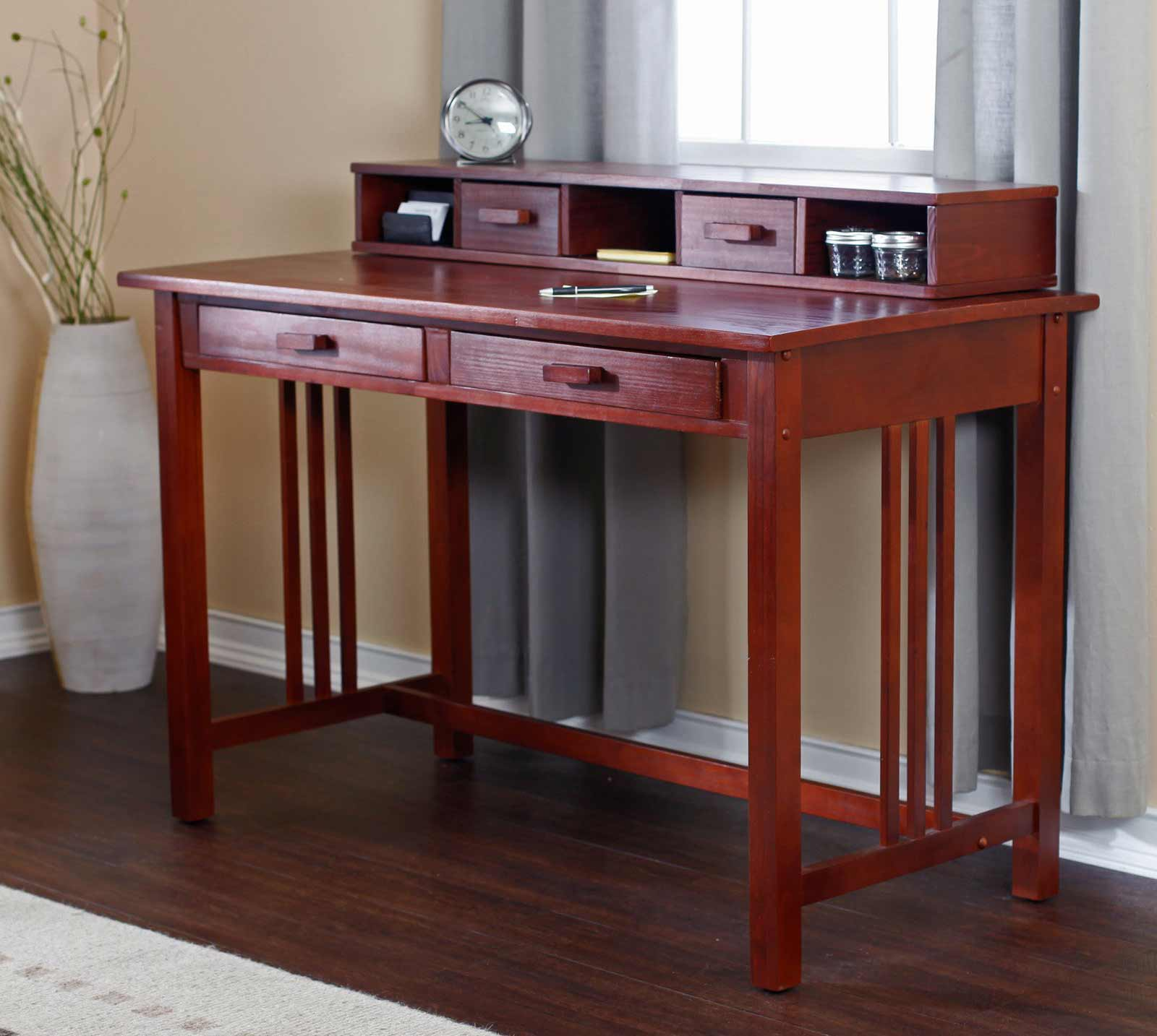 mission style writing desk Shouldn't its appearance and style be an extension of your commitment and hard   whether it's one of our wildly popular writing desks from village mission, or a.