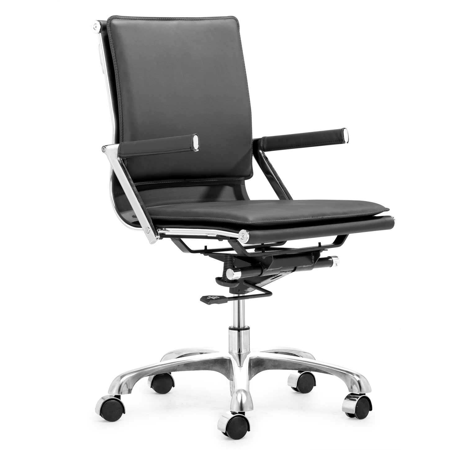 Adjustable height office furniture chair