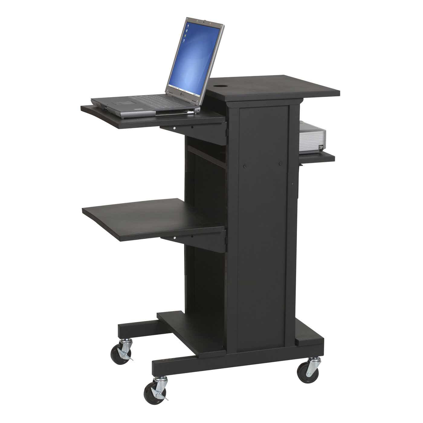 Balt 27548 Presentation Cart with Optional Shelf