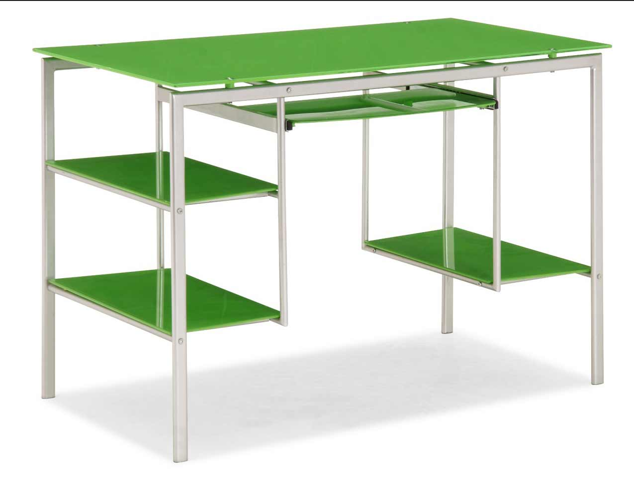 Green jumper office desk in office furniture outlet