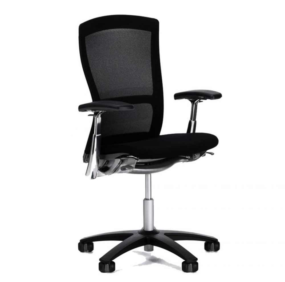 Knoll black used office chair