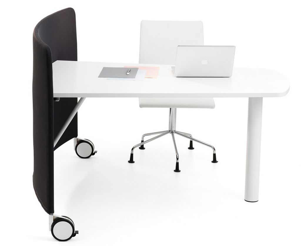Mobile home office computer desk design
