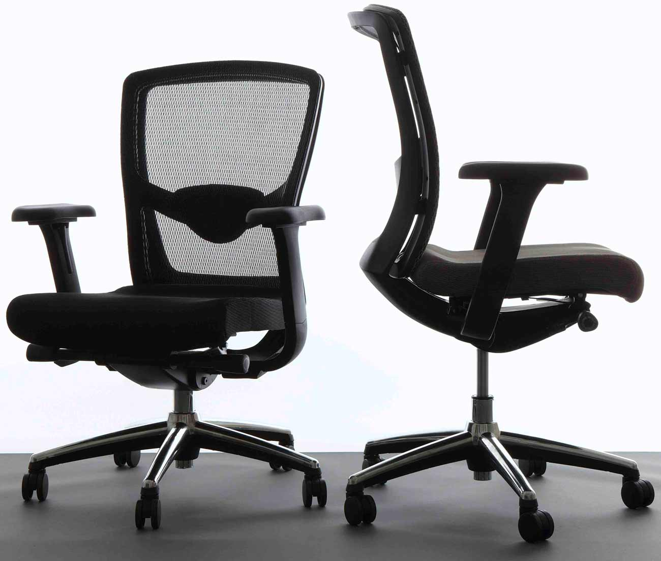 Office Star Progrid black mesh ergonomic chair