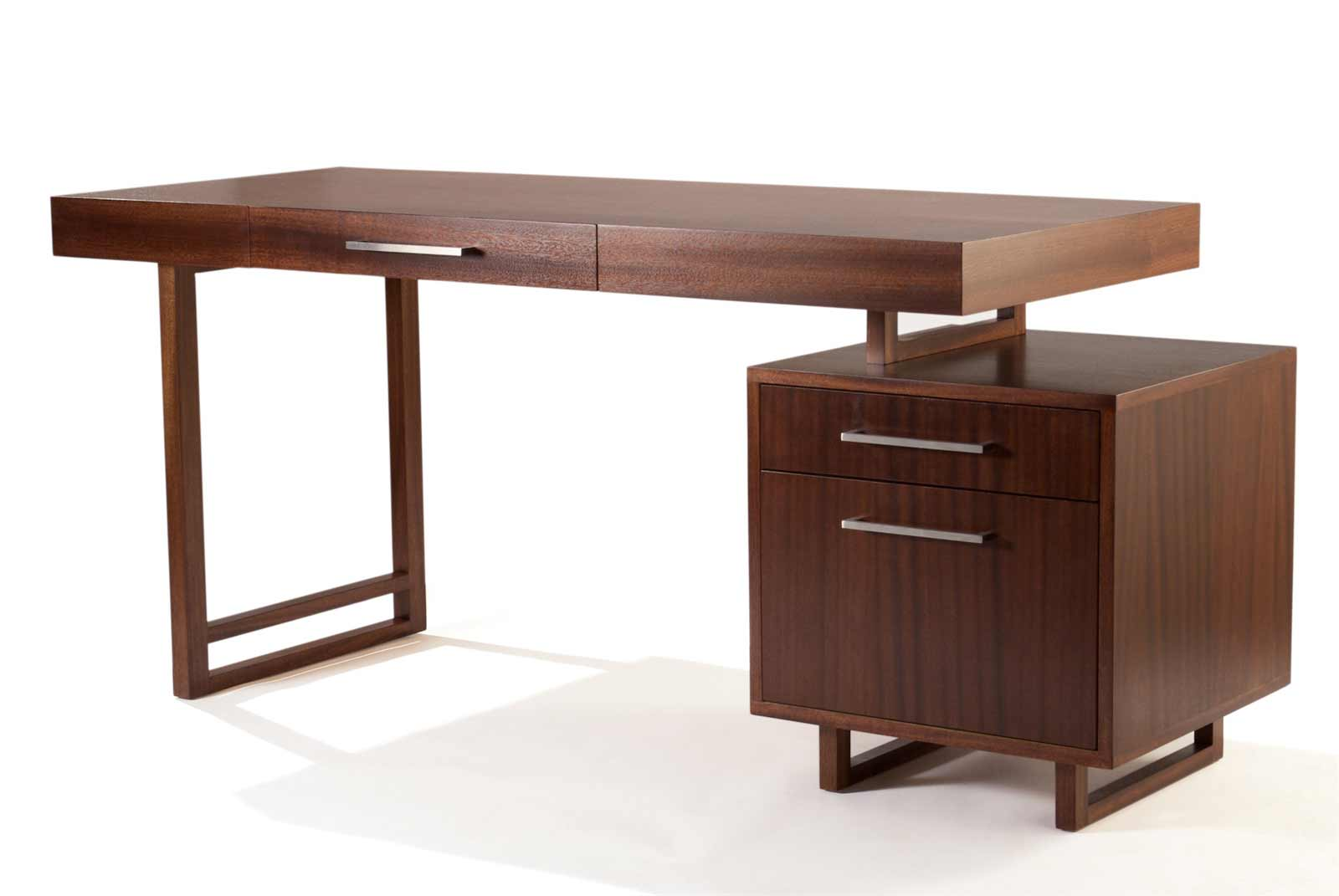 Plateau Cool Wooden Office Desk Unique Design