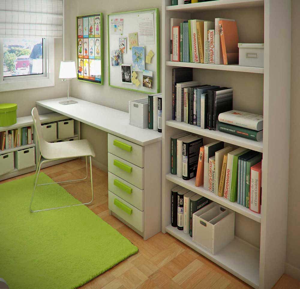 25 Kids Study Room Designs Decorating Ideas: Small Modern Desk For Your Office
