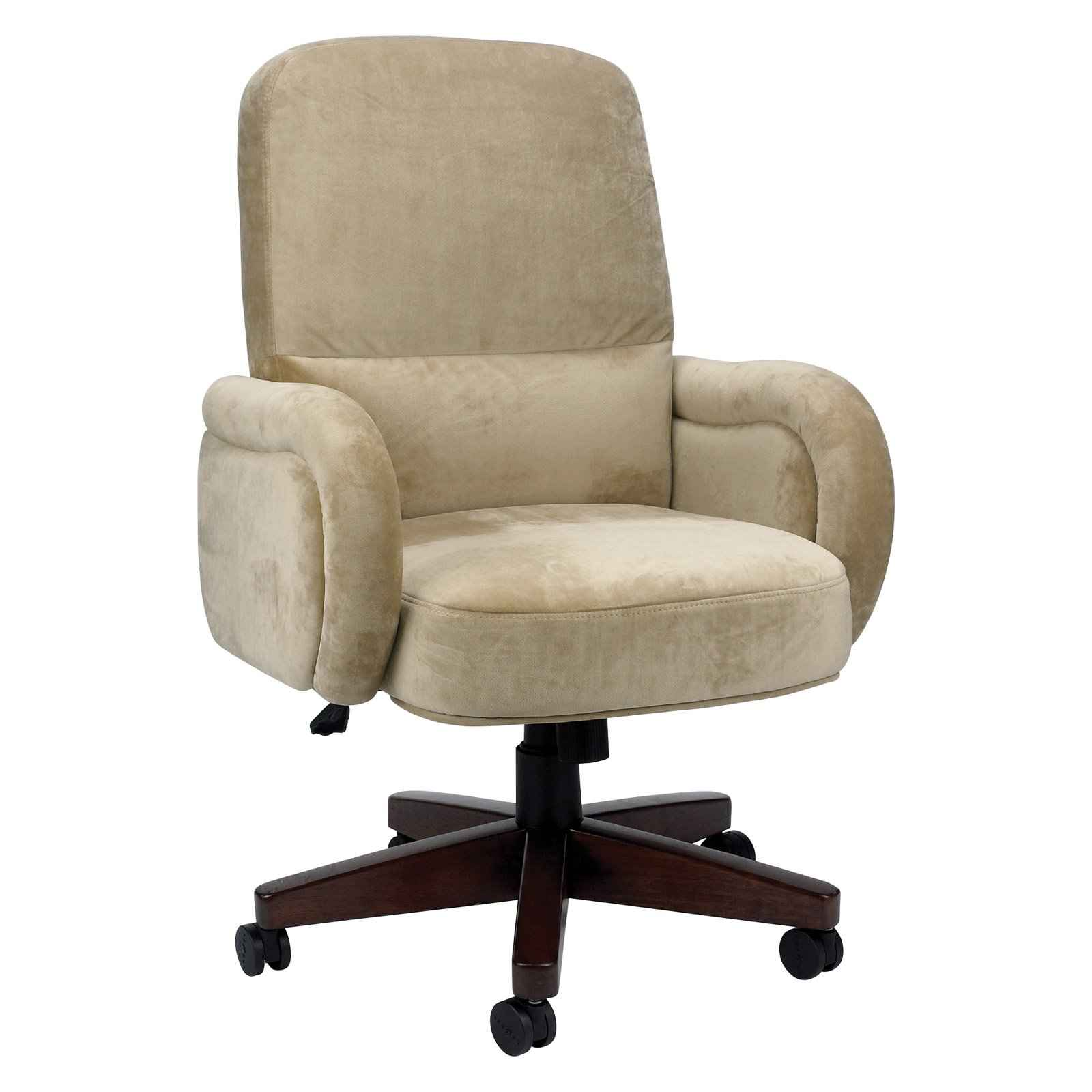 Boulder Luxury Microsuede Executive Office Chair from La-Z-Boy