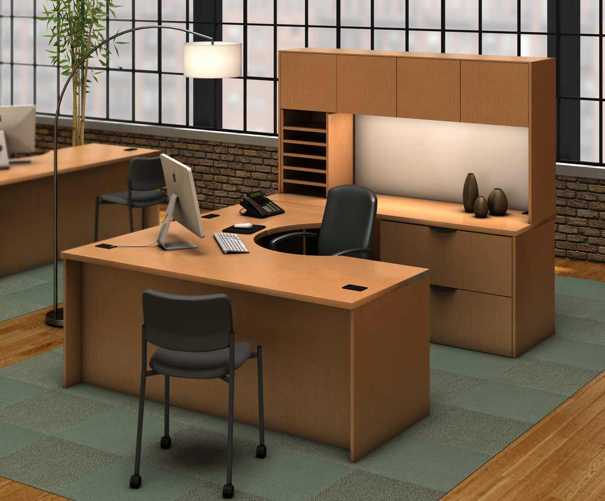 Modular executive desks office furniture for Office design furniture layout