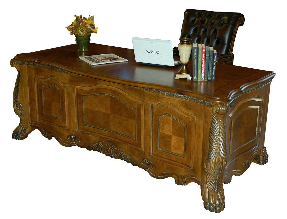 LEO Amaretto Mahogany Laptop Desk for Executive