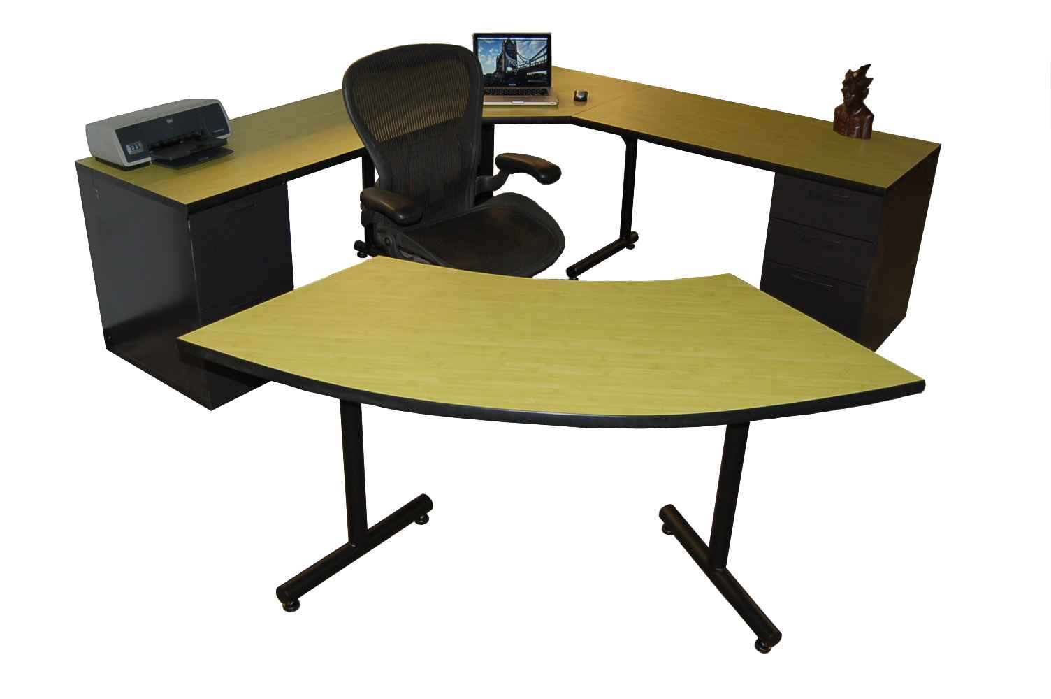 Bargain office furniture market ideas - Custom office desk ...