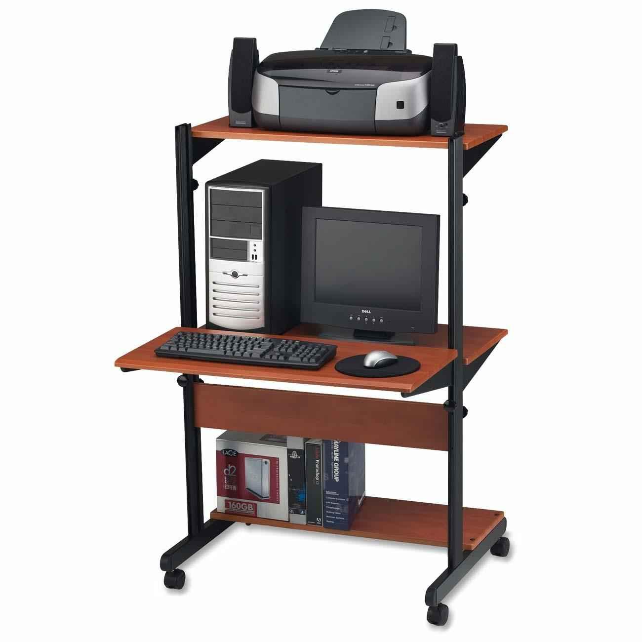 Adjustable computer workstations desk benefits for Computer furniture