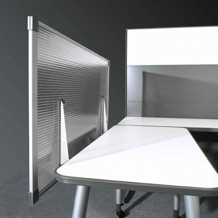 Mounted Office Cubicle Privacy Screen