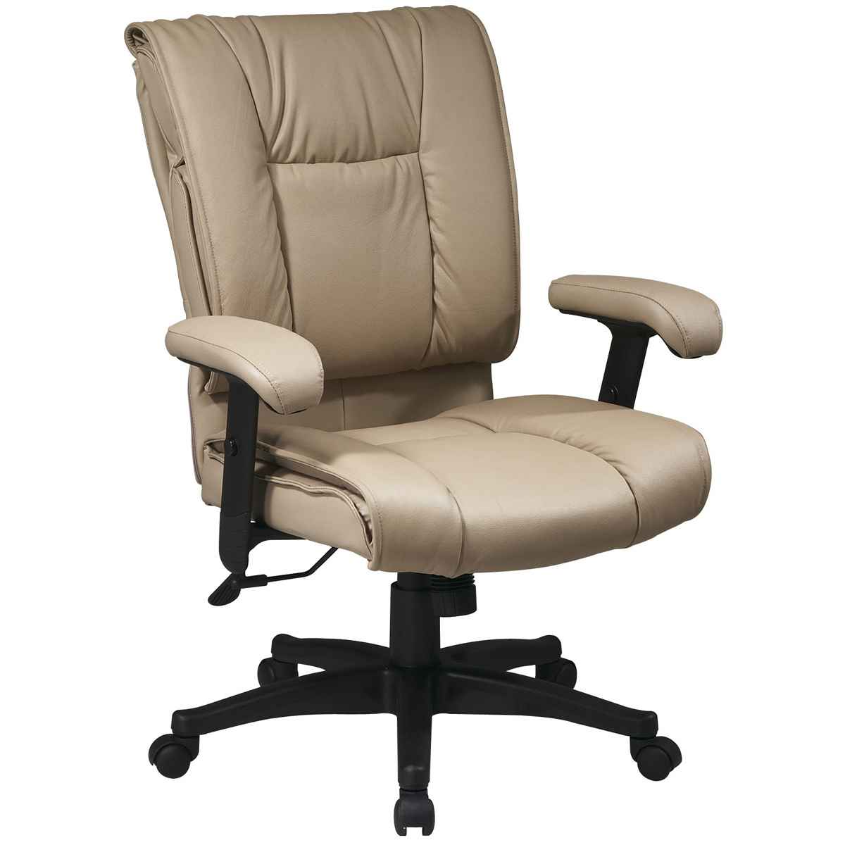 Soft leather executive computer chair