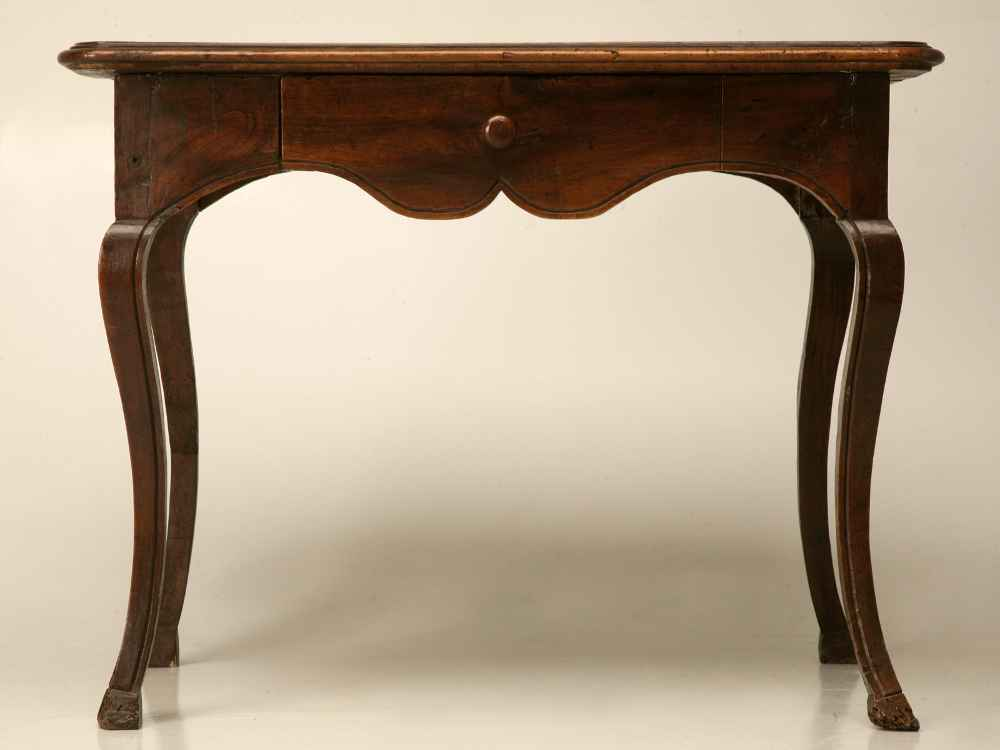 Solid Wood Vintage Writing Desk for Secretary