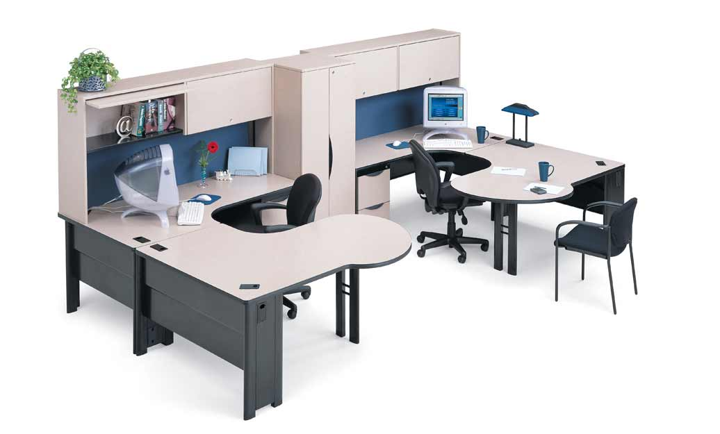 White Executive Computer Desks Solutions