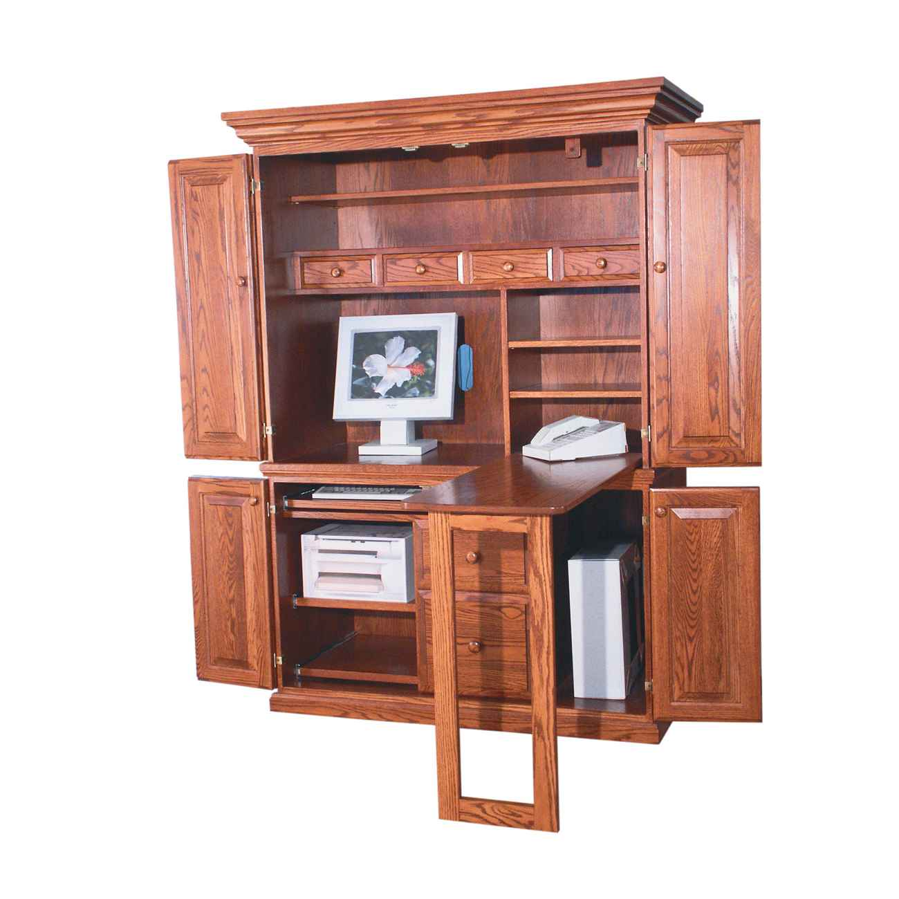 computer armoire desk furniture | Office Furniture
