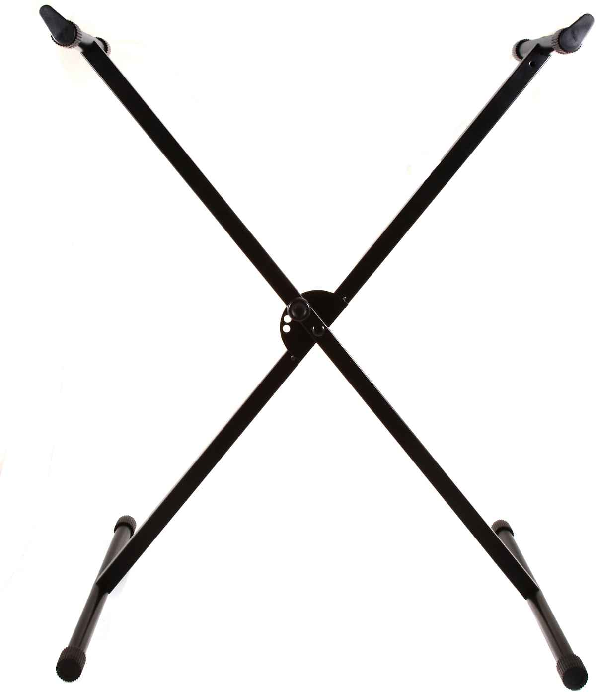 X shape black adjustable keyboard stand