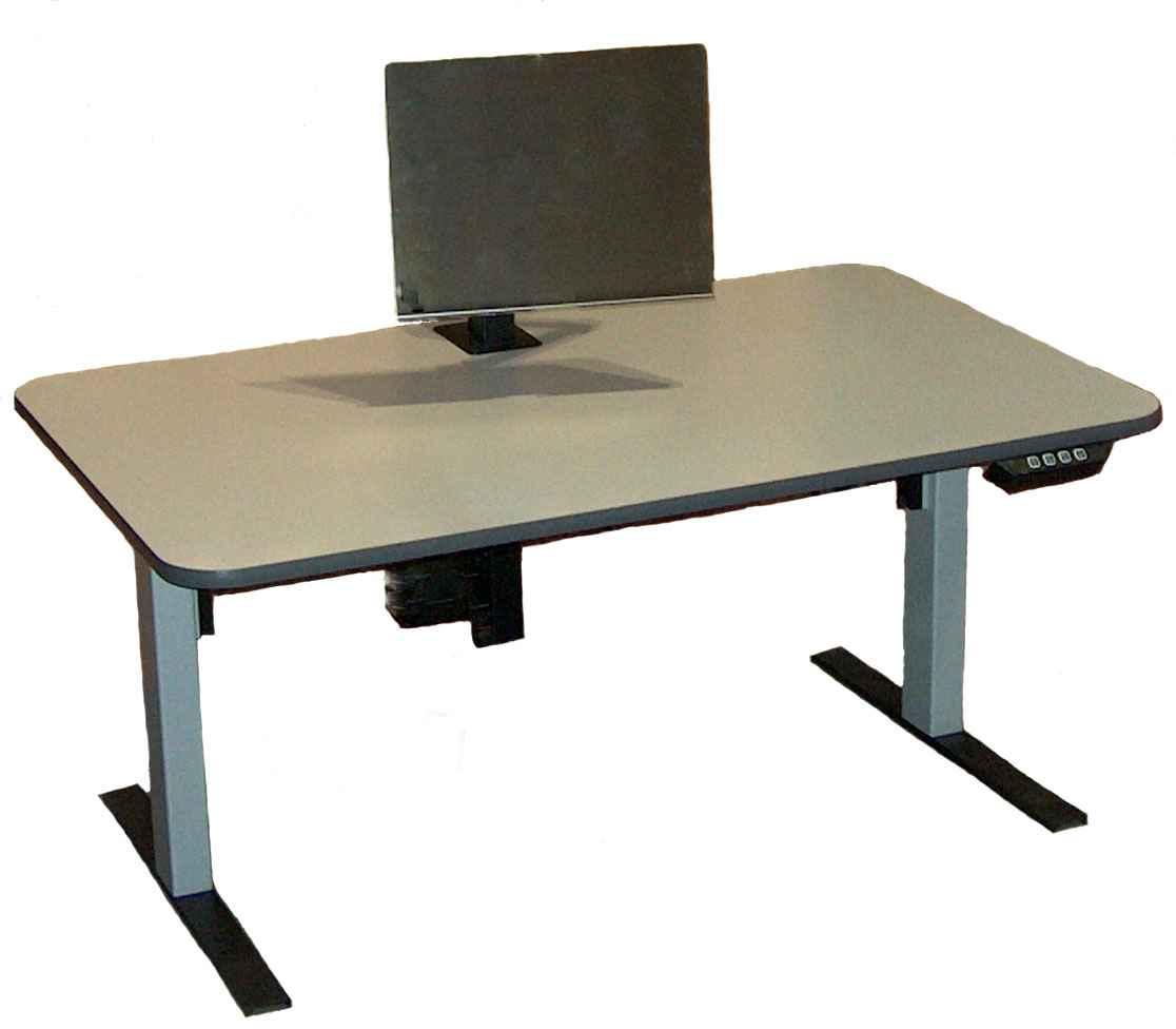 cheap adjustable ergonomics computer desk