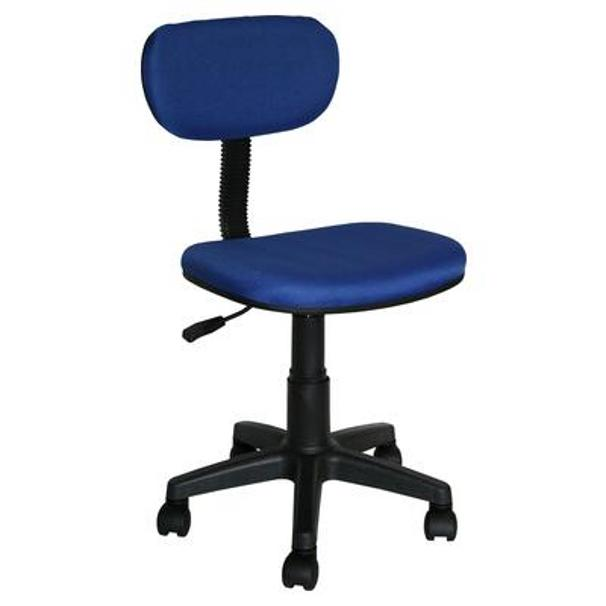 cheap desk chair in blue