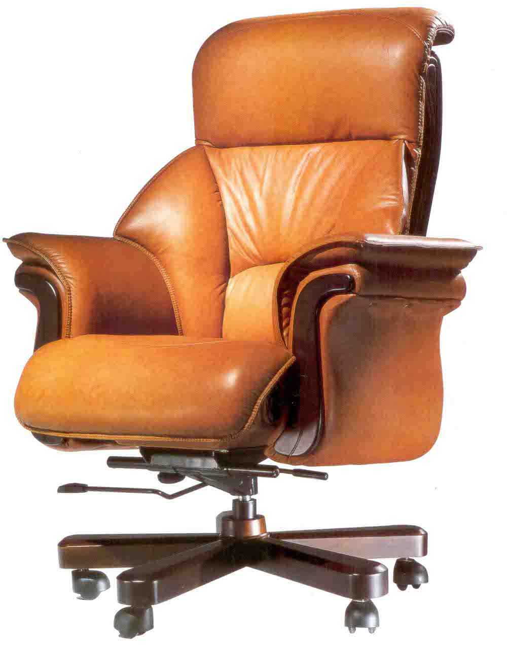 Executive leather office chair office furniture Upscale home office furniture