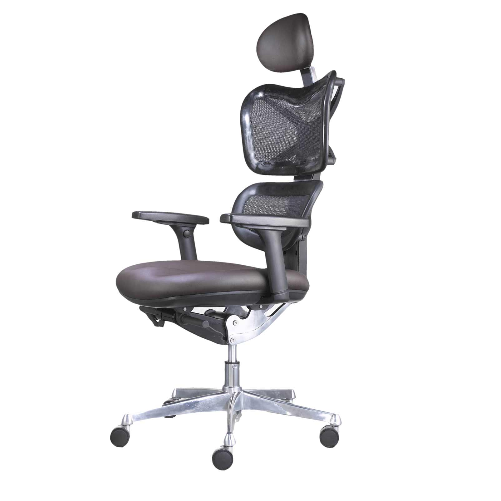 modern high back office mesh chairs with headrest