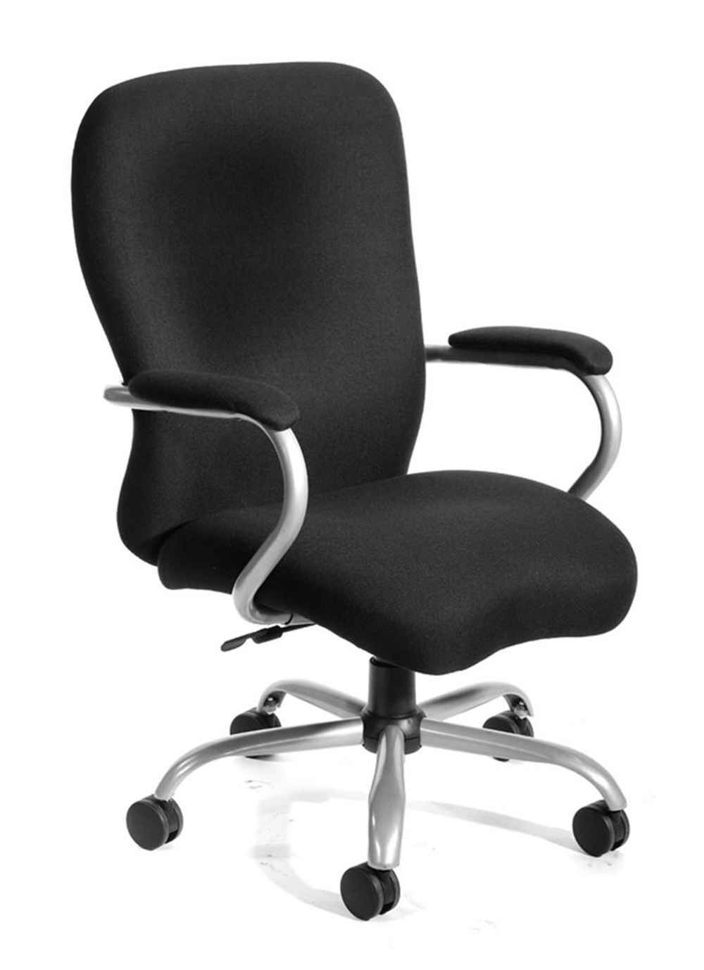 Boss Heavy Duty Black Microfiber Desk Chair