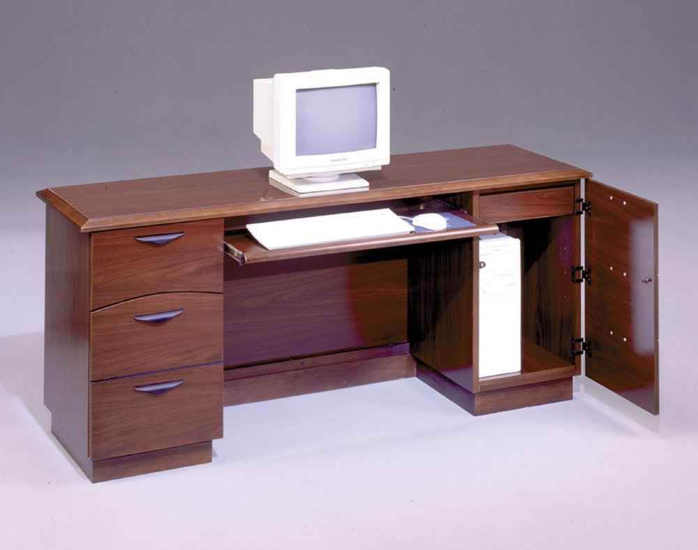 DMI Transitional Office Furniture Computer Credenza