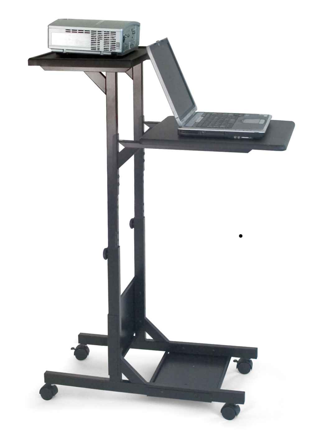 H Wilson Mobile Laptop Stands for Presentation