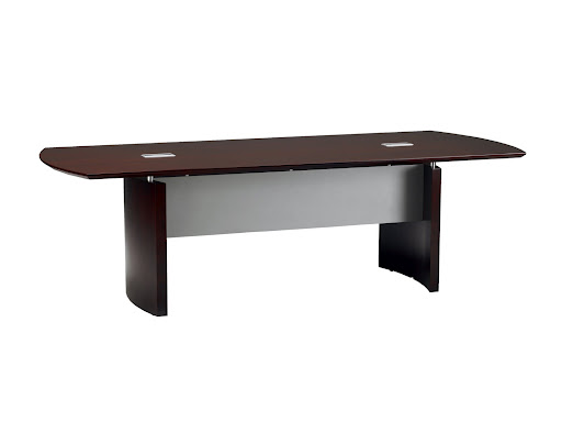 Mayline Napoli Solid Mahogany Conference Table