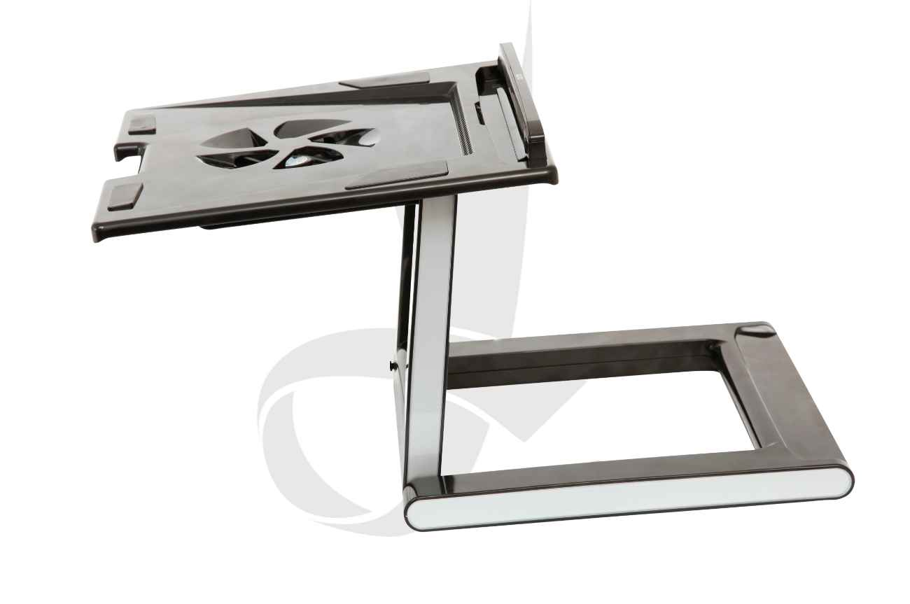 Portable folding notebook desk stand