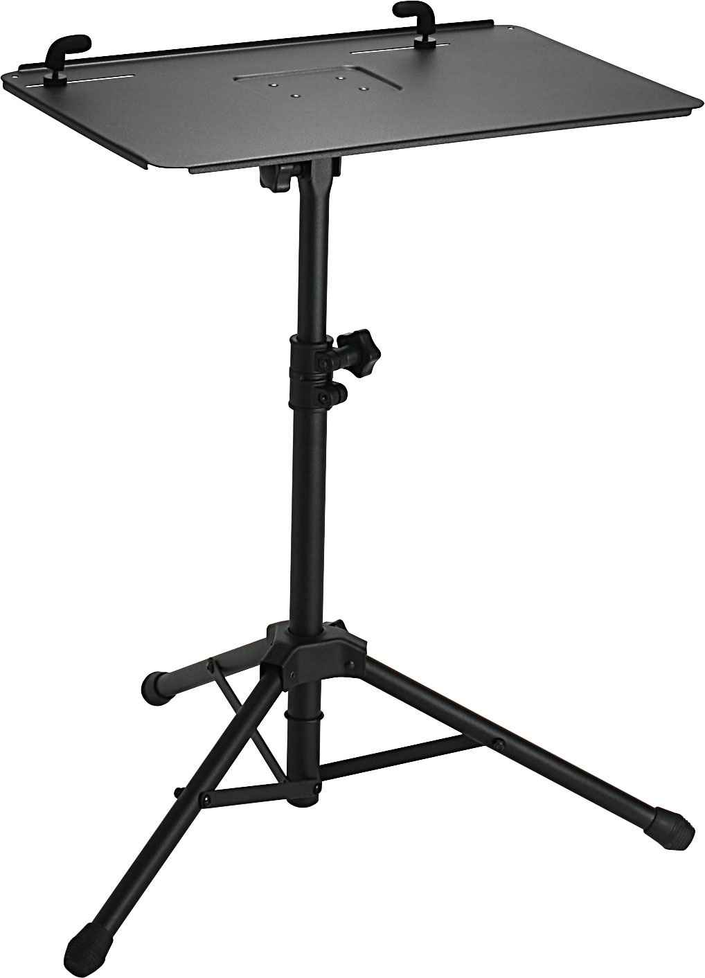Roland black laptop stand with adjustable height