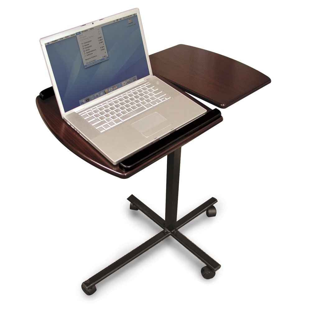 Windsor black cherry laptop desk stands