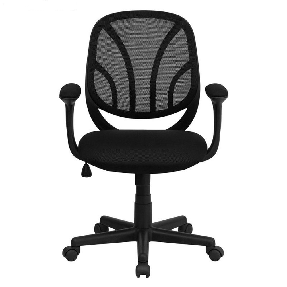 Y GO Black Mesh Computer Task Chair