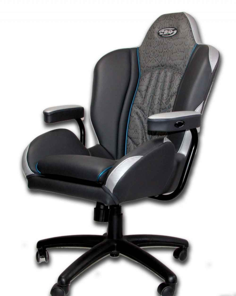 black leather custom office chairs